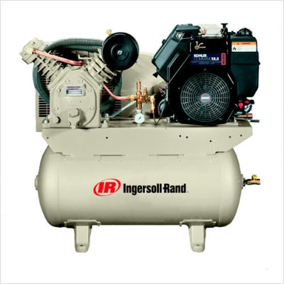 ingersoll rand 2475f14g portable gas compressor 14hp