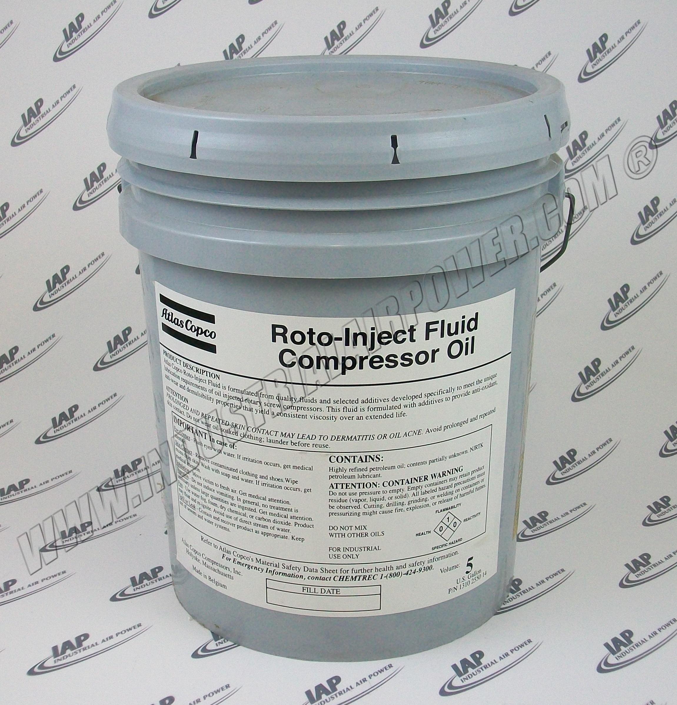 Atlas Copco 1310 2550 14 Roto Inject