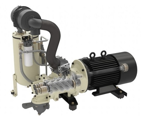 RS30n Variable Speed Drive Rotary Screw Air Compressor