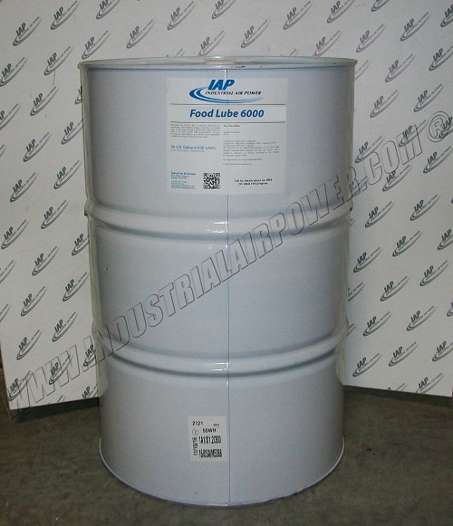 FOODLUBE 6000 Synthetic Food Grade Lubricant - 55 gallon
